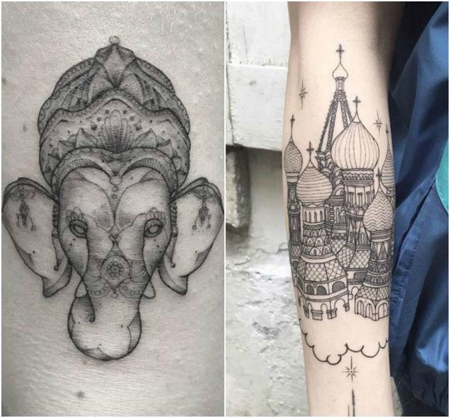L'Encrerie original tattoos collage 5-w636-h600
