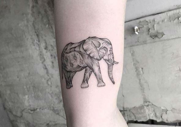 L'Encrerie original tattoos elephant-w636-h600