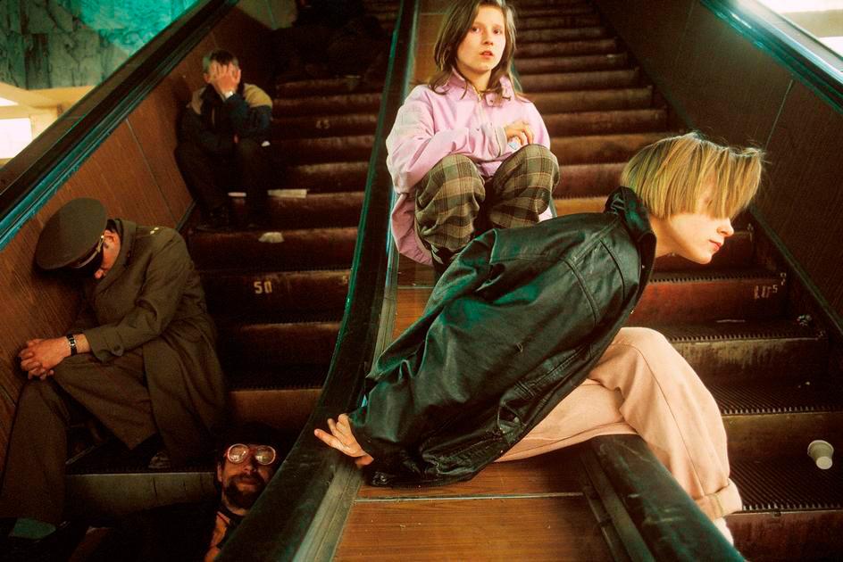 Lise Safarti escaleras metr