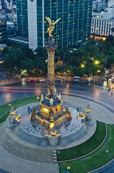 Lugares cerca de la CDMX para practicar turismo de aventura  Angel de la Independencia