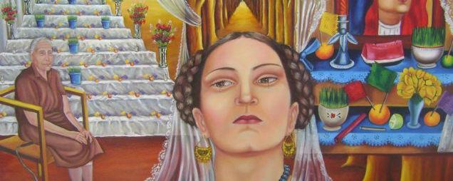 María Izquierdo Mexican painter altar-w636-h600
