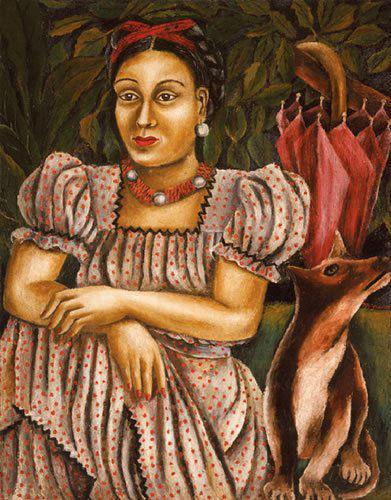María Izquierdo Mexican painter fox-w636-h600