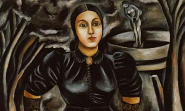 María Izquierdo Mexican painter mourning-w636-h600