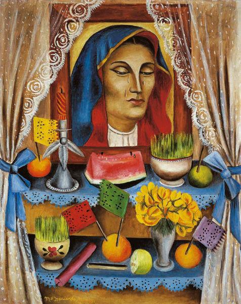 María Izquierdo Mexican painter virgin-w636-h600