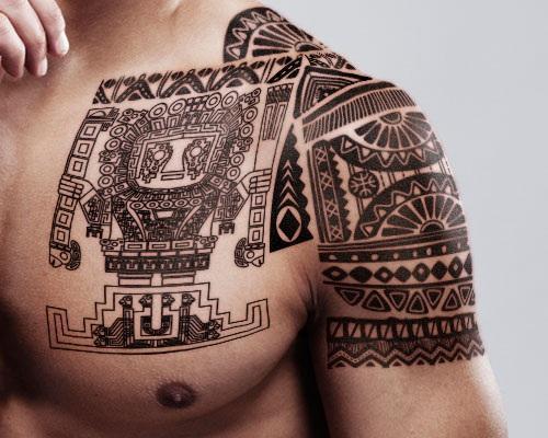 Mayan-Tattoos disenos de tatuajes geometricos