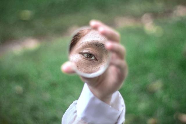 ojo espejo
