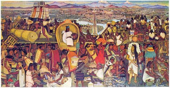 Murales diego rivera tlatelolco