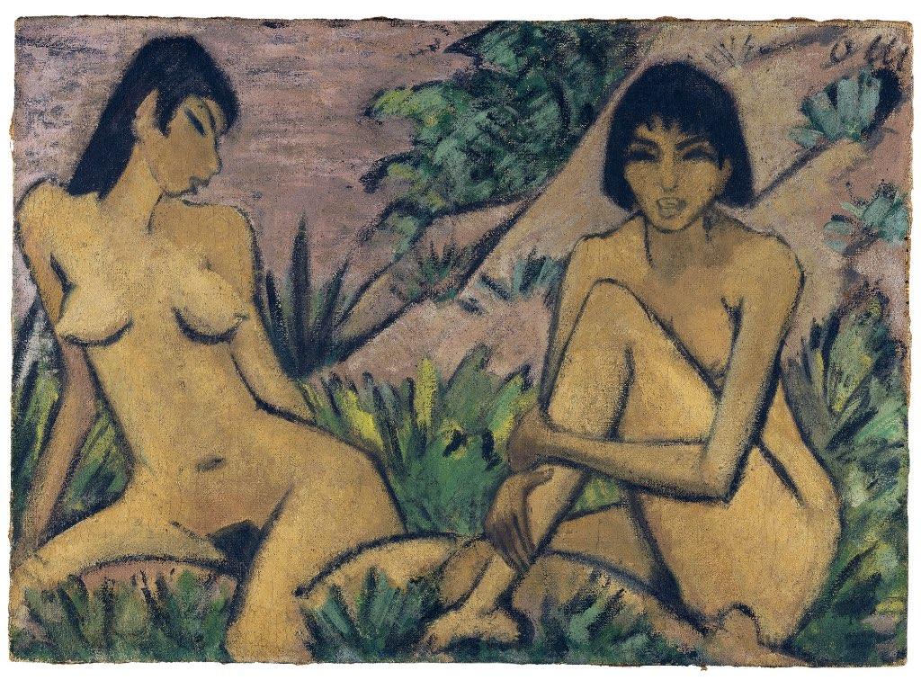 Otto Muller pintor expresionista