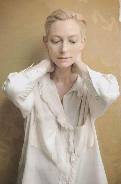 Tilda Swinton Fashion Lessons Minimalism White-w636-h600