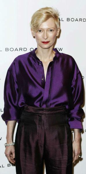Tilda Swinton Fashion Lessons jewel tone colors-w636-h600
