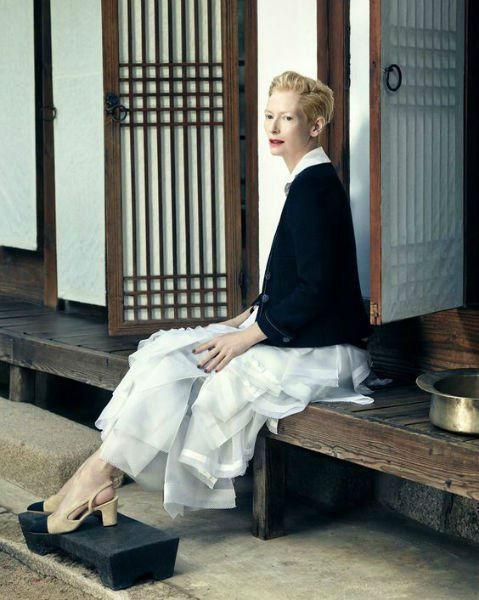 Tilda Swinton Fashion Lessons minimalist-w636-h600