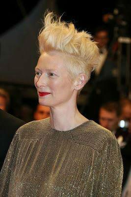 Tilda Swinton Fashion Lessons mohawk hair-w636-h600