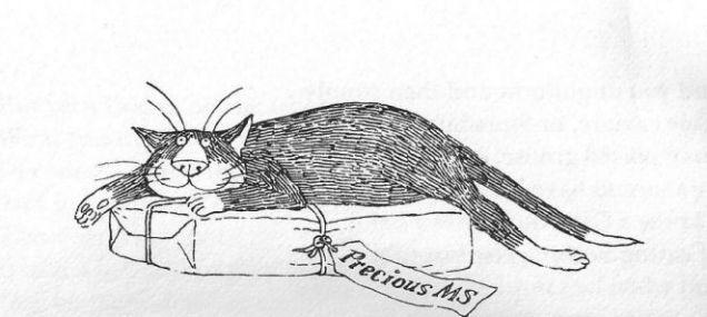 Tim Burton Edward Gorey  Cats-w636-h600