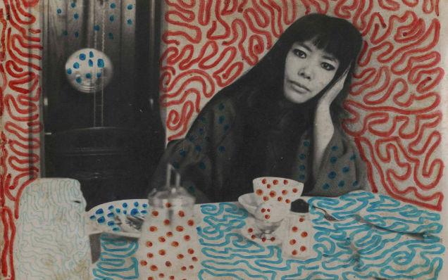 Yayoi Kusama life story red blue-w636-h600