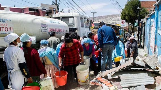 escases de agua en mexico
