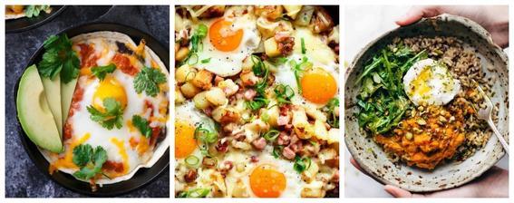 alimentos que evitan la calvicie huevos
