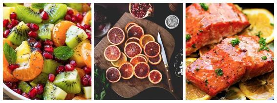 alimentos que evitan la calvicie naranjas