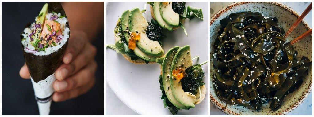 alimentos que no engordan algas