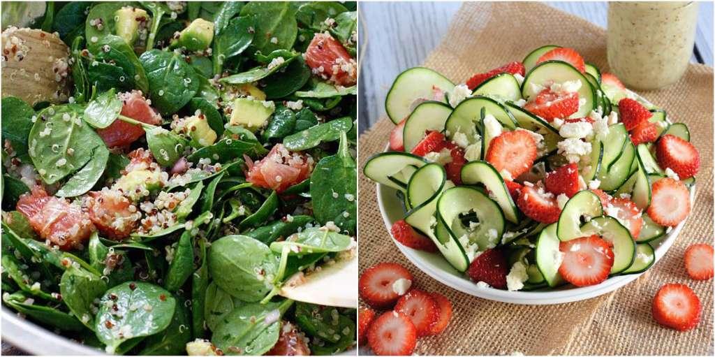 alimentos que te hacen subir de peso ensaladas