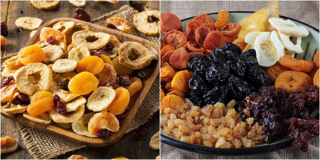 alimentos que te hacen subir de peso fruta seca