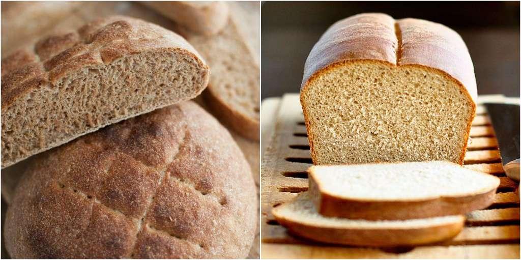alimentos que te hacen subir de peso pan integral