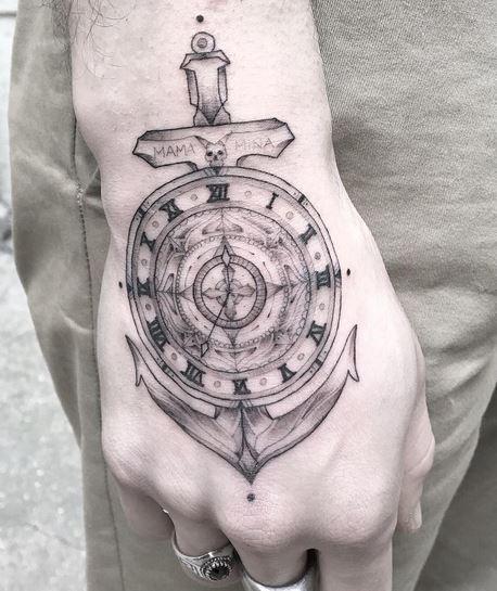 ancla tatuajes originales