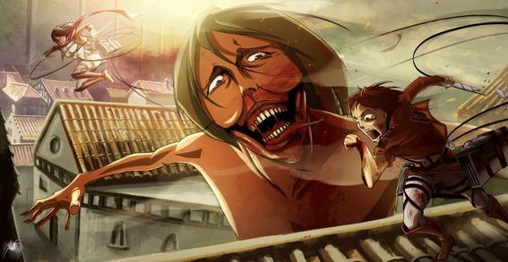 animes de horror titan