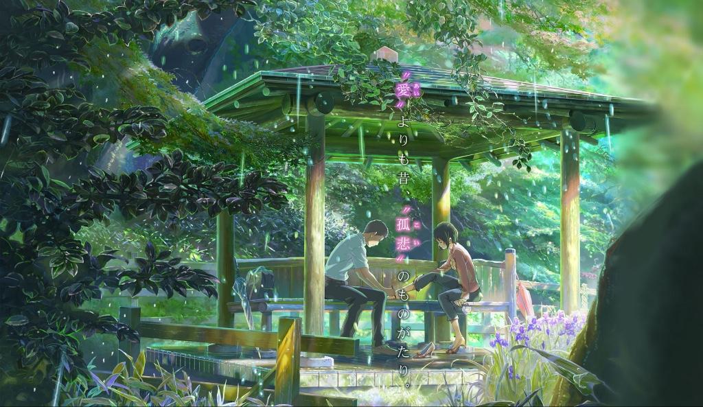 animes recomendados garden of words