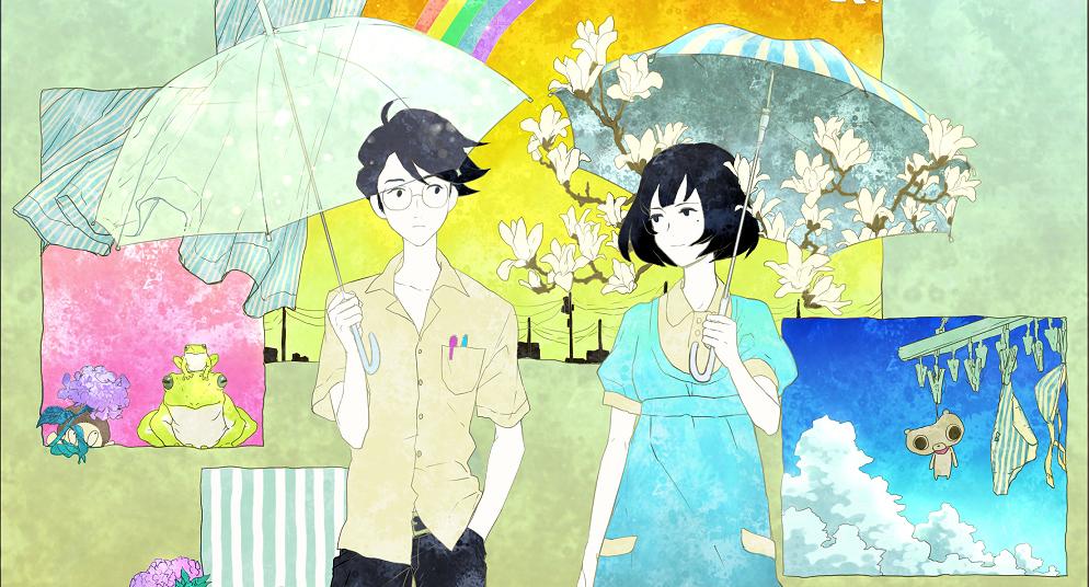 animes recomendados tatami galaxy