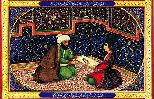 tiendas poemas arabes