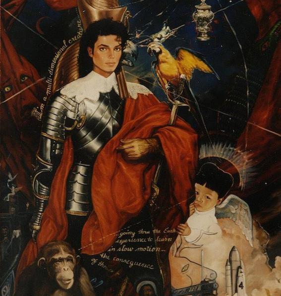 armadura coleccion de arte de michael jackson
