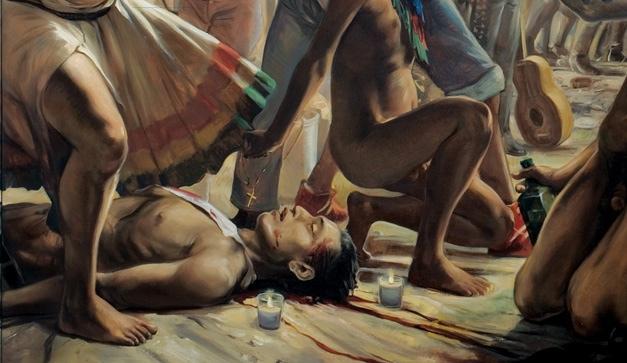artistas contemporaneos importantes de mexico daniel lezama obra