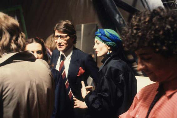 backstage desfile de moda lolou