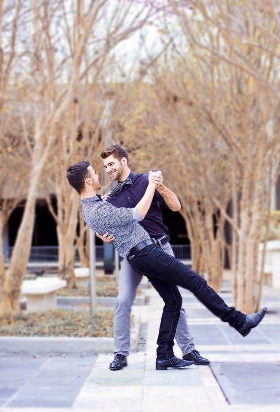 baile pareja bisexual
