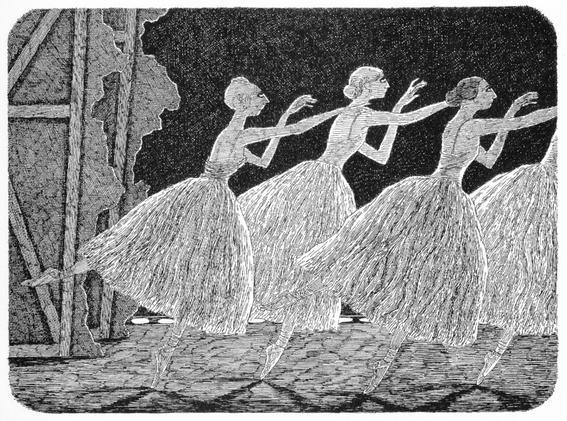 ballet Edward Gorey
