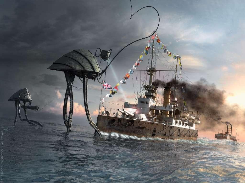 barcos la guerra de los mundos orson welles