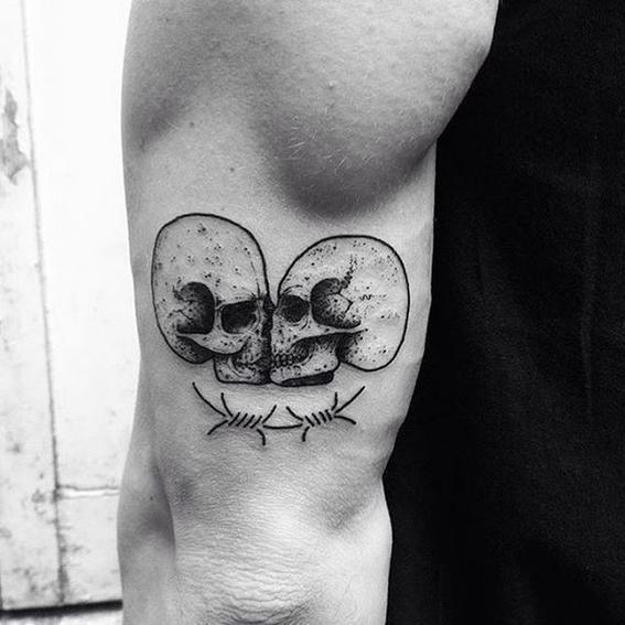 beso tatuajes originales