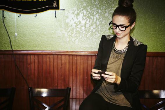 blackberry keyone mujer