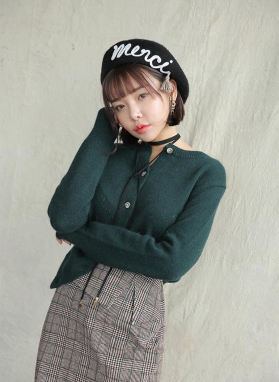 boina estilo coreano
