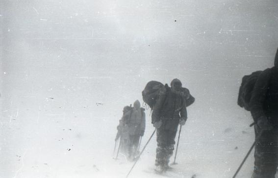 caminata exploradores rusos