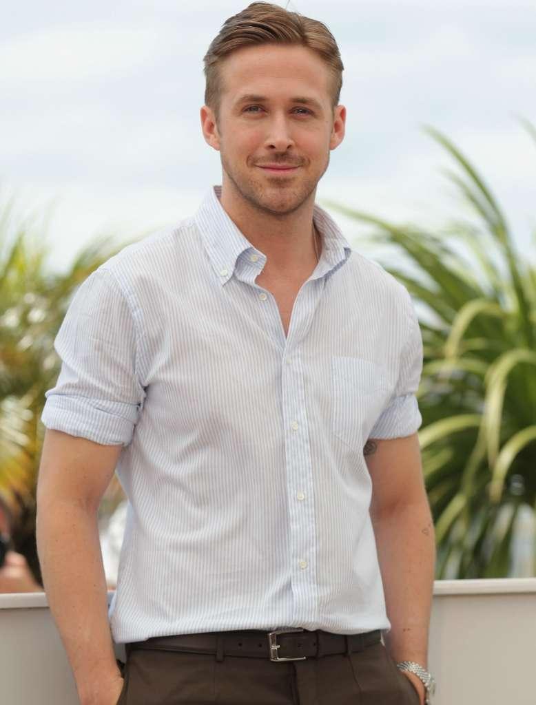 camisa look de ryan gosling