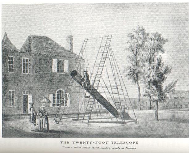 caroline herschel telescopio