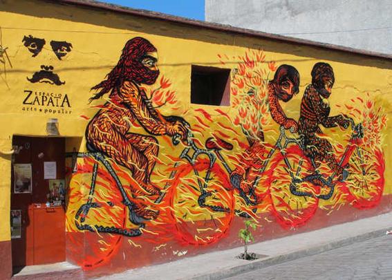 arte callejero de oaxaca