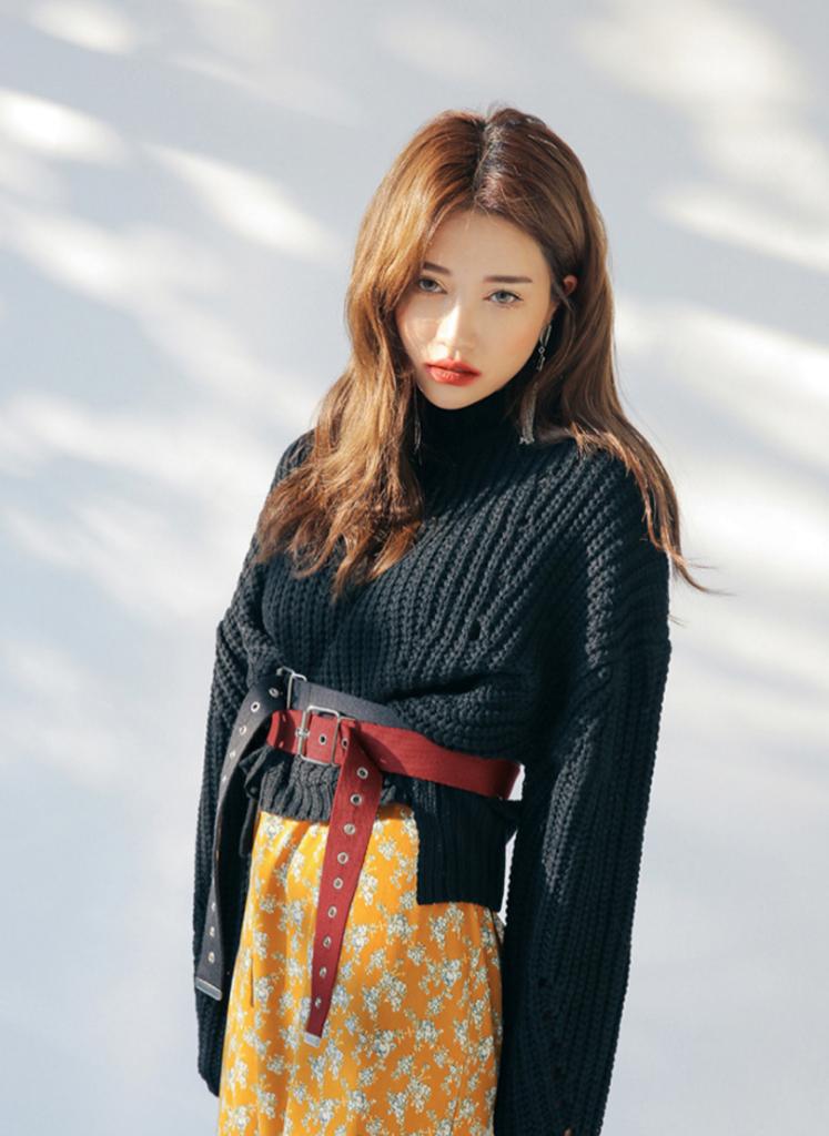 cinturones estilo coreano