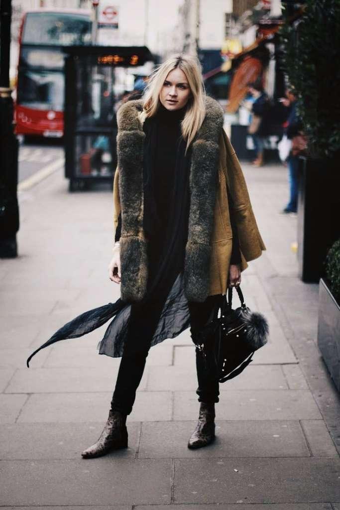 coat looks que no debes usar en un viaje
