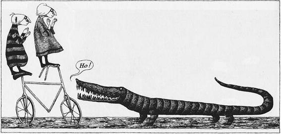 cocodrilo Edward Gorey
