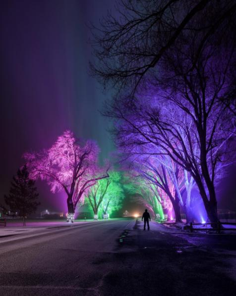 colores en fotos ravindran luces