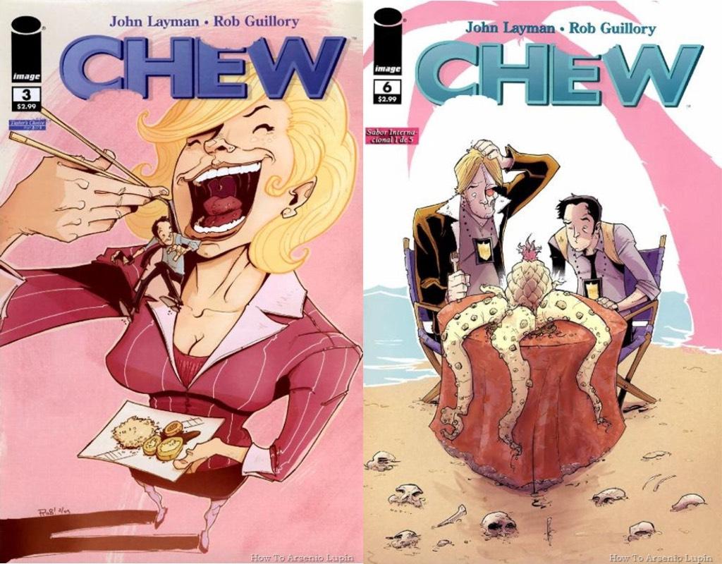 comics para ser adaptados chew