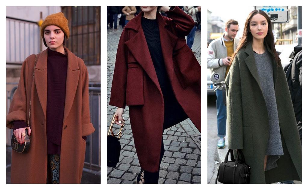 como usar prendas oversize abrigos