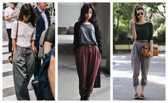 como utilizar prendas oversize pantalones